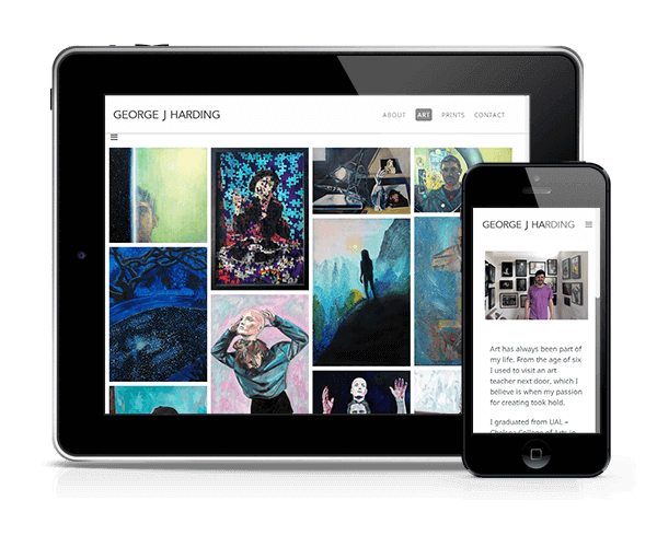 Bristolian Artist Website Redesign